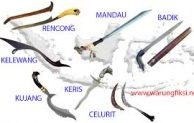 Go Indonesian :: Some of Popular Traditional  Weapons Indonesian Archipelago