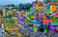 Let's Take A Vacation to Kampung Warna Warni Malang
